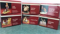 6pcs The Norman Rockwell Museum Miniatures