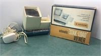 Vintage Wards Automatic Stack-Load Slide Viewer