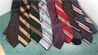 8 Vintage Fashion Neck Ties