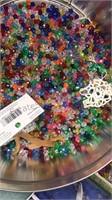 Collection of Vintage Craft Beads, buttons and