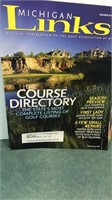 Collection of Golf Books and magazines