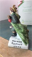 Norman Rockwell Collection Ornaments and