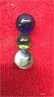 15 Vintage Glass Marbles