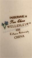 4 Place Settings Farberware Fine China Wellesley