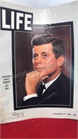 1963 Life Magazines w/ JFK Covers