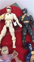 Collection of  Action Figures and Accessories