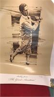 2 Ben Hogan and 1 Bobby Jones Golf Prints
