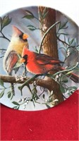 Norman Rockwell and Garden Birds Collector Plates