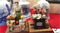 Norman Rockwell Figures Bells and other