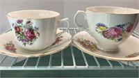 Royal Stewart Bone China Cups and Saucers