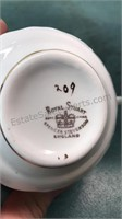Royal Stewart Bone China Cups and Saucers
