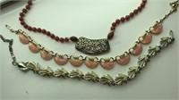 Sarah Coventry Beaded  Vintage Costume Jewelry
