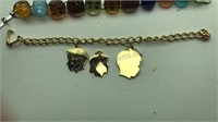 Sarah Coventry Vintage Fashion Bracelet and 4