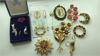 Collection of Vintage Pins and Charms