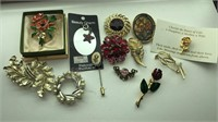 Vintage Pins and Charms