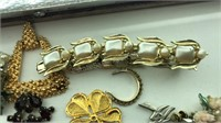 Large Collection of Costume Jewelry Necklaces,