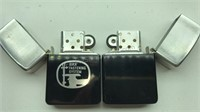 2 Vintage Park Lighters Made in Murfreesboro TN