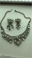 Vintage Necklace with Matching Earrings