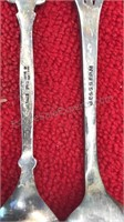 Antique Letter Openers and Souvenir Spoons