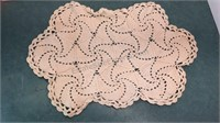 Collection of Vintage Crocheted Doilies,