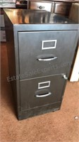 HON Metal 2 Drawer File Cabinet lockable with Key