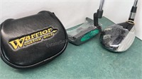 Warrior Custom Golf Putter and Driver unused