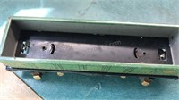 2 Vintage Stamped Metal Lionel Train Cars 7 and