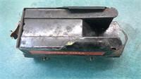 2 Stamped Metal Lionel Train Cars Sunoco Tank Car