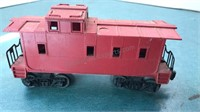 Vintage Lionel Lehigh Valley Train car and caboose