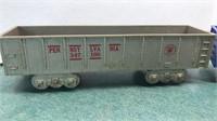3 Vintage Marx Toys Plastic Train Cars