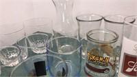 Vintage Barware Schlitz Glass Miller Light Key