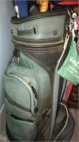 Michigan State University Branded Golf Bag with