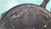 """Antique Cast Iron Skillets 8"""" and 6 1/2"""""""