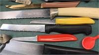 Collection of Vintage Kitchen Utensils including