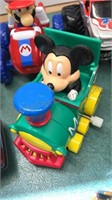 Collection of Newer Toy Cars includes Mickey