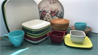 Collection of Vintage Plastic Kitchen Ware