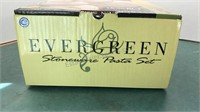 Gibson Evergreen Stoneware Pasta Set unused in
