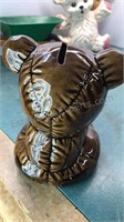 Vintage Ceramic Bear Banks Ceramic Squirrel