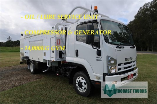 2010 Isuzu FSR 850 Midcoast Trucks - Trucks for Sale