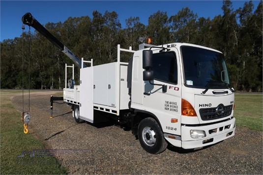2010 Hino 500 Series 1024 FD - Wrecking for Sale