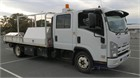 2012 Isuzu NQR 450 Crew Premium Crane Truck