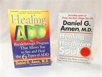 Books Paperback- Daniel G. Amen, MD (2)