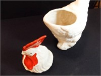 Ceramic Rooster Cookie Jar