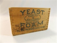 Wood Box Yeast Foam, Northwestern Yeast Co.