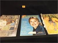 Magazines- Saturday Evening Post (2), Journal