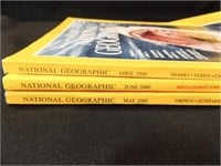 Magazines- National Geographic 70's (2), 80's (2)