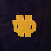 Vintage Norte Dame Stadium Blanket, very Nice!