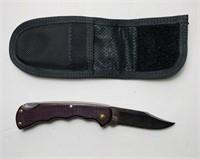 "Bucklite 422 Knife w/ Gerber Case, 3"" Blade"