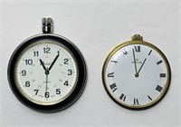 2 Pocket Watches, 1971 Baylor Swiss Made