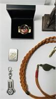 US Marine Corps Lot, Statue, Money Clips,